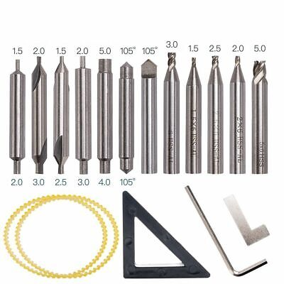 Drill Bit Cutter Blade Saw Drilling Tools Set For Vertical Key Copy Duplicating