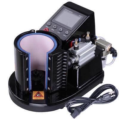 110v Auto Pneumatic 11oz Mug Sublimation Heat Press Machine 3 Free 11 Oz Mugs