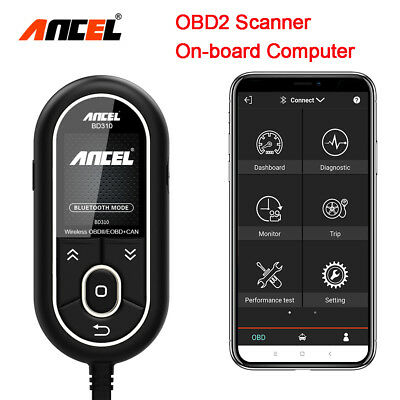 Bluetooth Scanner OBD On-board Computer OBD2 Car Diagnostic Tool For Android