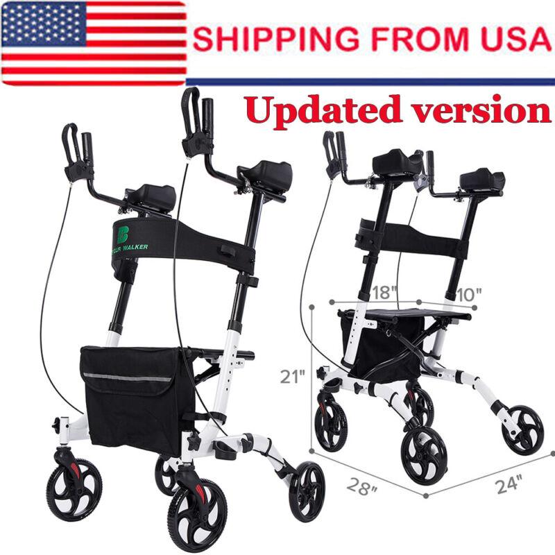 Upright Rollator Walker Mobility Walker Upwalker Lightweight 4 Wheel Walking Aid