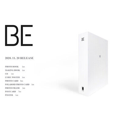 BTS BE Deluxe Edition CD+Photobook+Photocard+Etc+Tracking Number
