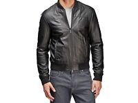 GENUINE ARMANI LEATHER JACKET SIZE XL