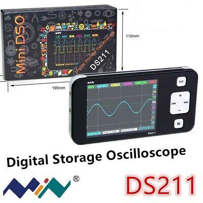 New Portable Ware Electric Measure Tool Ds211 Mini Storage Digital Oscilloscope