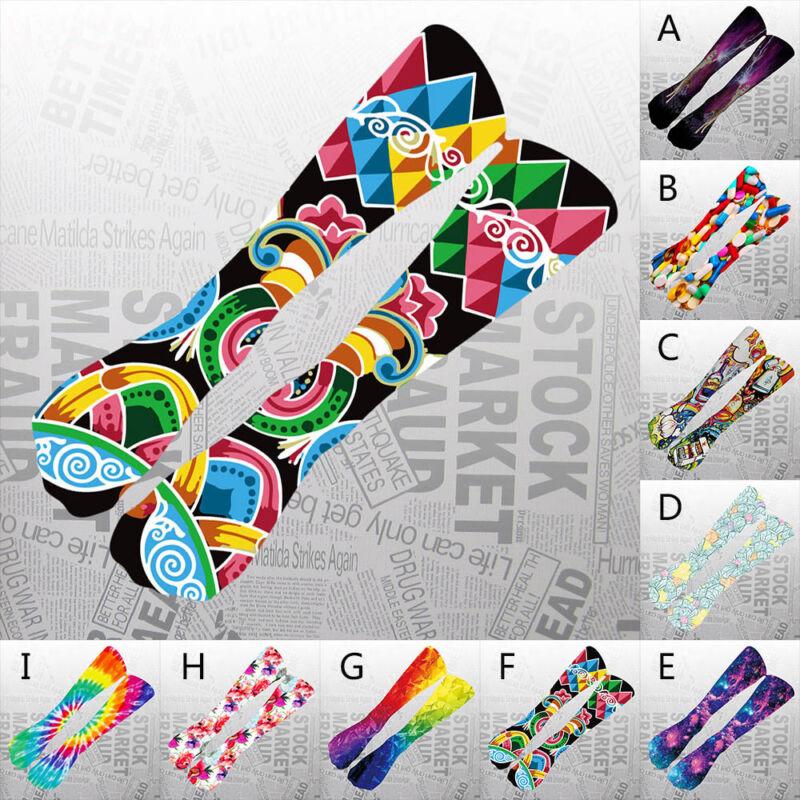 Colorful Tie Dye Compression Thick Socks Soccer Socks High Socks Long Socks