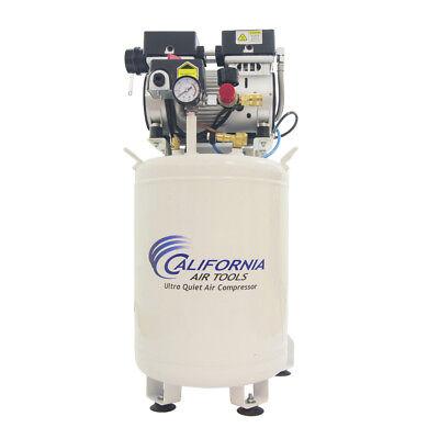 California Air Tools Cat-10010dcad 8.5 Amp Oil-free Air Compressor New