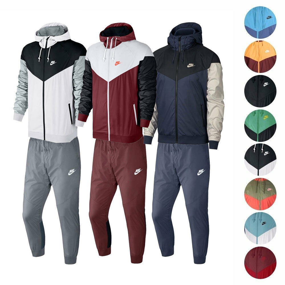 dacd5137 Nike Sportswear Windrunner Jacket & Pants Men's - 727324 898403 924515 фото