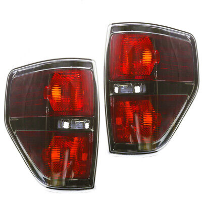 For 2009-2014 FORD F-150 Harley Davidson Blackout Replacement Tail Light Set