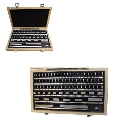 81 pc Steel Gage Block Set000005 Space Block Harden Gauges Gauge Block Grade B
