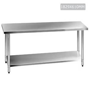 Commercial Stainless Steel Kitchen Work Bench Food Preparation Sydney City Inner Sydney Preview