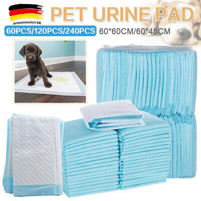60 120 240 Welpenunterlagen Wegwerf Puppy Training Pads 60 X 45cm Haustier Matte