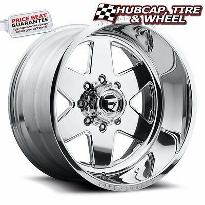 "FUEL FORGED FF17 POLISHED 26""x16 CUSTOM WHEELS RIMS (4 RIMS) 9 LIP STYLE CHOICES"