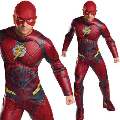 Herren Flash Kostüm Offiziell Justice League - Offizielle Superhelden Kostüme