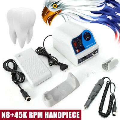 Dental Lab Marathon Electric Micromotor Polishing N845k Rpm Motor Handpiece Kit