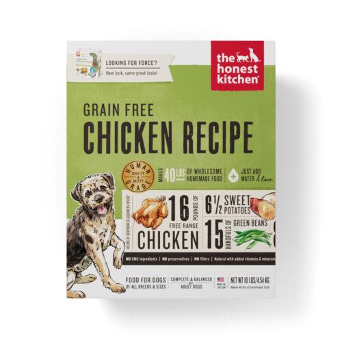 The Honest Kitchen Chicken Recipe Grain-Free Dehydrated Dog Food