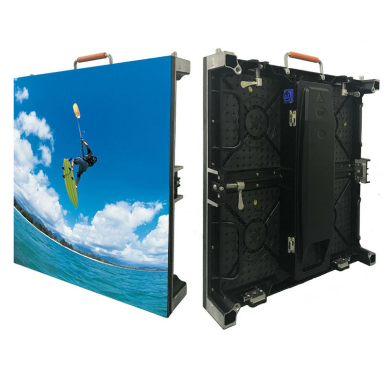 P4.81 Indoor Rental LED Matrix Screen Panel Wall Display For Church Background