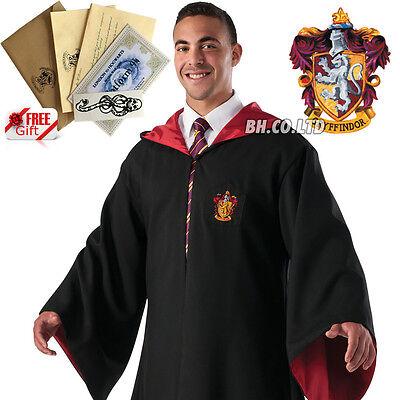 Harry Potter Robe Für Erwachsene (DPD Harry Potter Kostüm Gryffindor Robe für Erwachsene kostenlos Tattoo Größe M)
