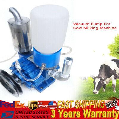 250 Lmin Portable Electric Milking Machine Bucket Vacuum Pump Cow Goat Milking
