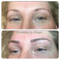 Microblading eyebrows ($320 March special)