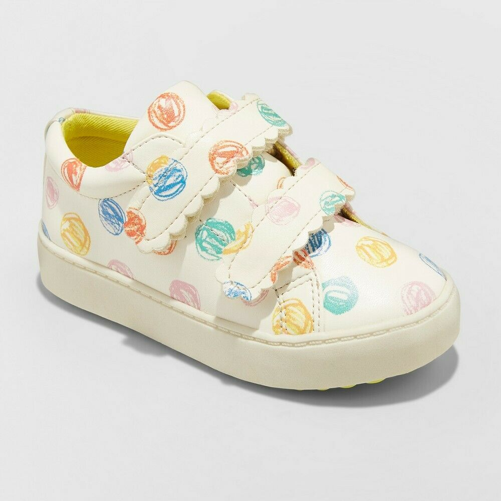 Toddler Girls' Orlanda Sneakers – Cat & Jack White 7 Baby