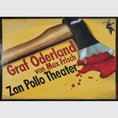 Graf Öderland von Max Frisch. Zan Pollo Theater. Design: Zarypow 1993.