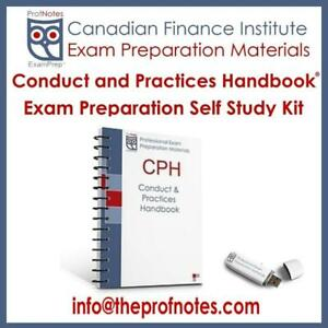 CPH Conduct & Practices Handbook Exam Prep Textbook, Check Questions for CSI Canadian Securities Institute Exams