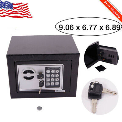Electronic Safe Security Box Money Home Large Fireproof With Digital Lock Office