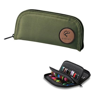 SHIMANO Cardiff Spoon Wallet Pouch PC-431H Size L Jig Head Fly Lure Hook Case