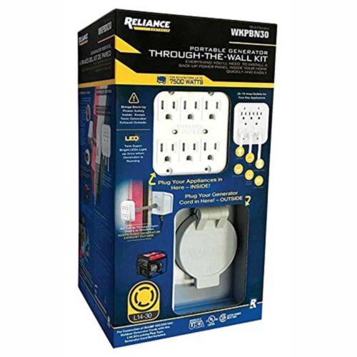 Reliance Controls WKPBN30 Portable Generator Through-the-Wall Kit