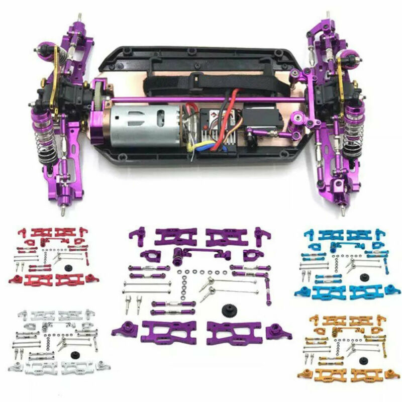 Car Parts - Upgrade Metal Replacement Parts Kit Fits For WLtoys 124018 144004 1/12RC Car<
