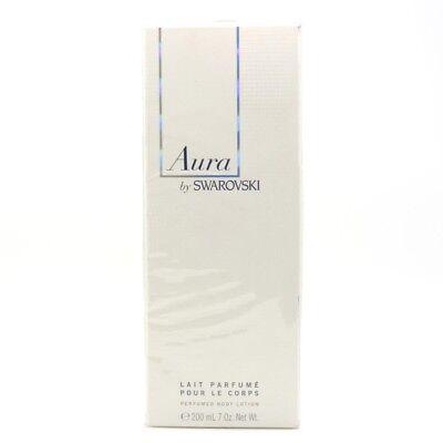Aura by Swarovski 7.0 oz, 200 ml Perfumed Body Lotion for Women 200ml Perfumed Body Lotion