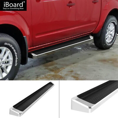 """6"""" iBoard Running Boards Fit 05-18 Nissan Frontier Crew Cab"""