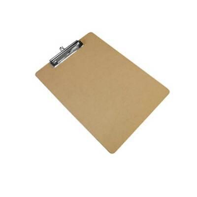 Wonday Klemmbrett Schreibbrett Clip Board aus Hartfaser Holz DIN A4 gebraucht kaufen  Pfinztal