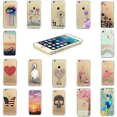 Soft-silikon-hülle (Soft Silikon Hülle für iPhone 6 6S Smartphone Handy Schutz Tasche Case Neu)