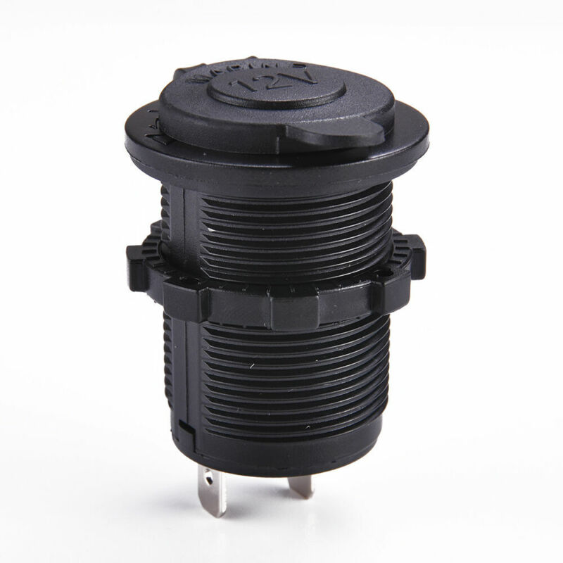 2020 12V Waterproof Car Motorcycle Boat Cigarette Lighter Socket Power Plug