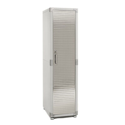 Ultrahd Locker Storage Cabinet 18 W X 24 D X 72 H Granite Gray