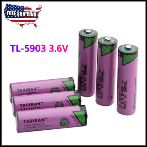 6 x 3.6V 2400mAh SL-360 PLC/TL-5903 Battery 6ES7971-0BA00 for Siemens S7-400 US