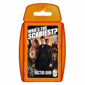 Top Trumps Doctor Who Pack 7 Card Game New Sealed