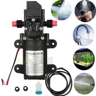 New 130psi 6lmin 70w Water High Pressure Diaphragm Self Priming Pump Kit Dc12v
