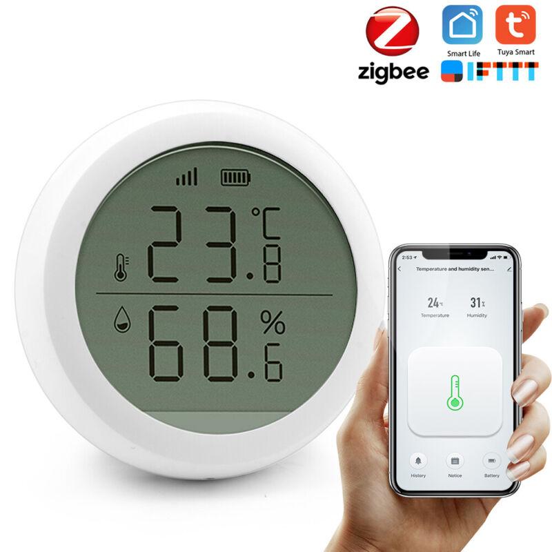 TUYA ZIGBEE Wireless Smart Temperature & Humidity Sensor for Alexa Google Home