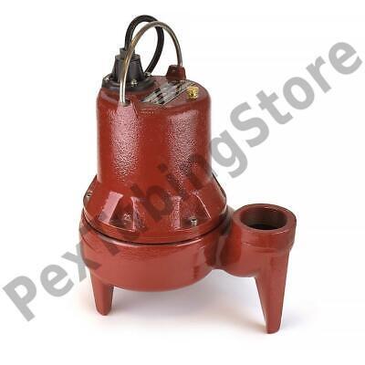 Manual Sewage Pump 10 Cord 12 Hp 115v