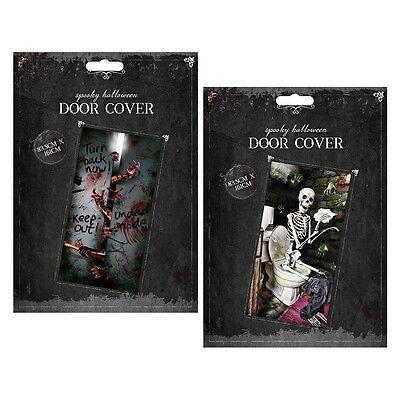 Halloween Door Cover Scary Decoration Scene Setter Doors Zombies Dead Wall Party](Halloween Door Decorations Scary)
