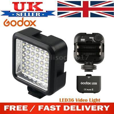 Godox LED36 Photo Studio 36 LED Video Light Lamp For DSLR Camera Camcorder DV