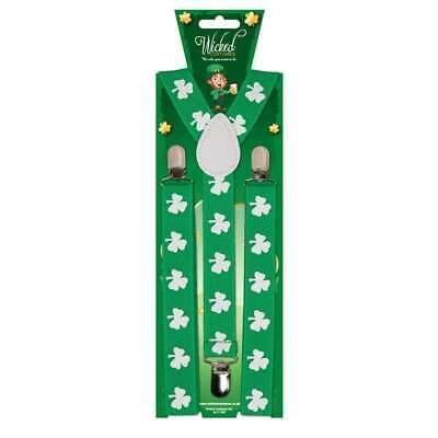 ADULT BRACES - IRISH / ST PATRICKS ST PATRICKS FANCY - St Patricks Fancy Dress Kostüm