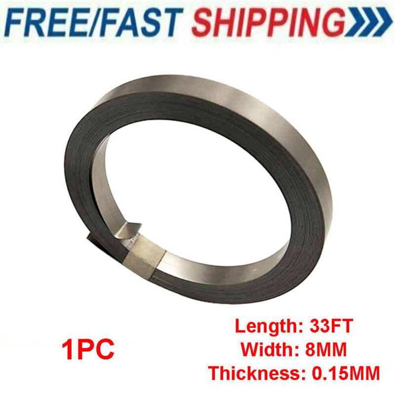 33 Feet Nickel Strip Tab 0.15mm x 8mm 10m For Battery Spot Weld US SHIP