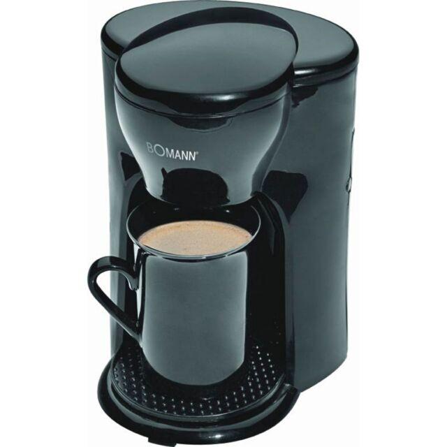 Bomann KA 201 Schwarz Filter-Kaffeemaschine 330 Watt automatische Abschaltung