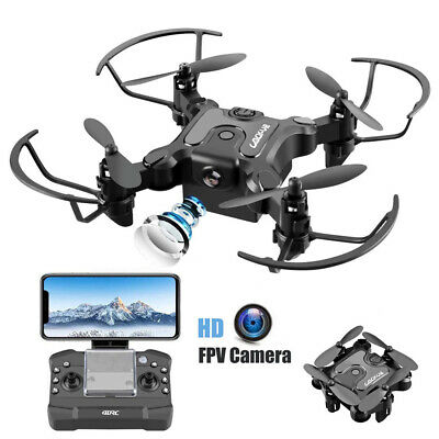 Mini Drone 4DRC-V2 Selfie WIFI FPV With HD Camera Foldable Arm RC Quadcopter US
