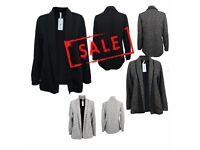FREE DELIVERY AMAVISSE UK - New Women Clothes Slim Long Sleeve Cardigan Jacket Coat Outwear Business