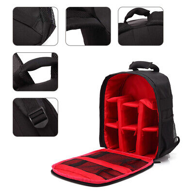Photography Camera Bag Insert Carry Case F Canon Nikon camera Lens Backpack C5L8