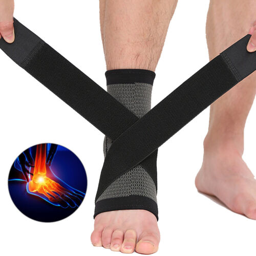 Compression Copper Foot Plantar Fasciitis Sleeve Arch Suppor
