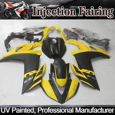 Yellow Black Fairings Kit For YAMAHA R25 2015-2017 / R3 14-18 ABS Injection Body